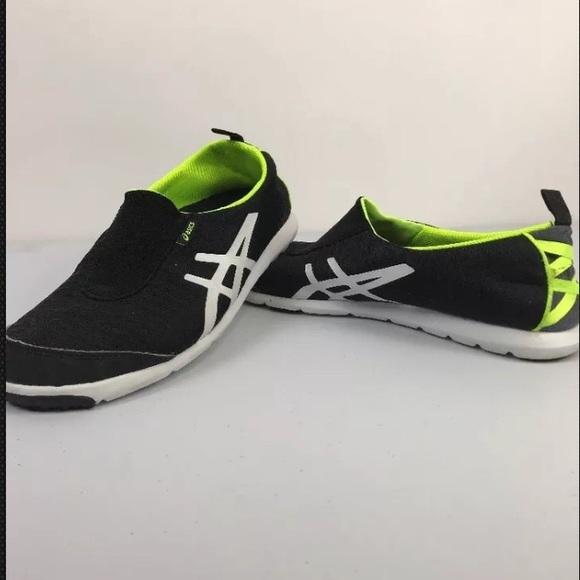 8402a4eee01 Asics Shoes | Metrolyte 2 Gem Black Athletic Slip On 95 | Poshmark